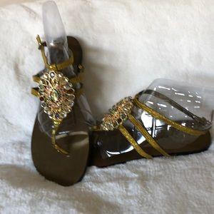 Nine West  NWOT embellished/jeweled sandals